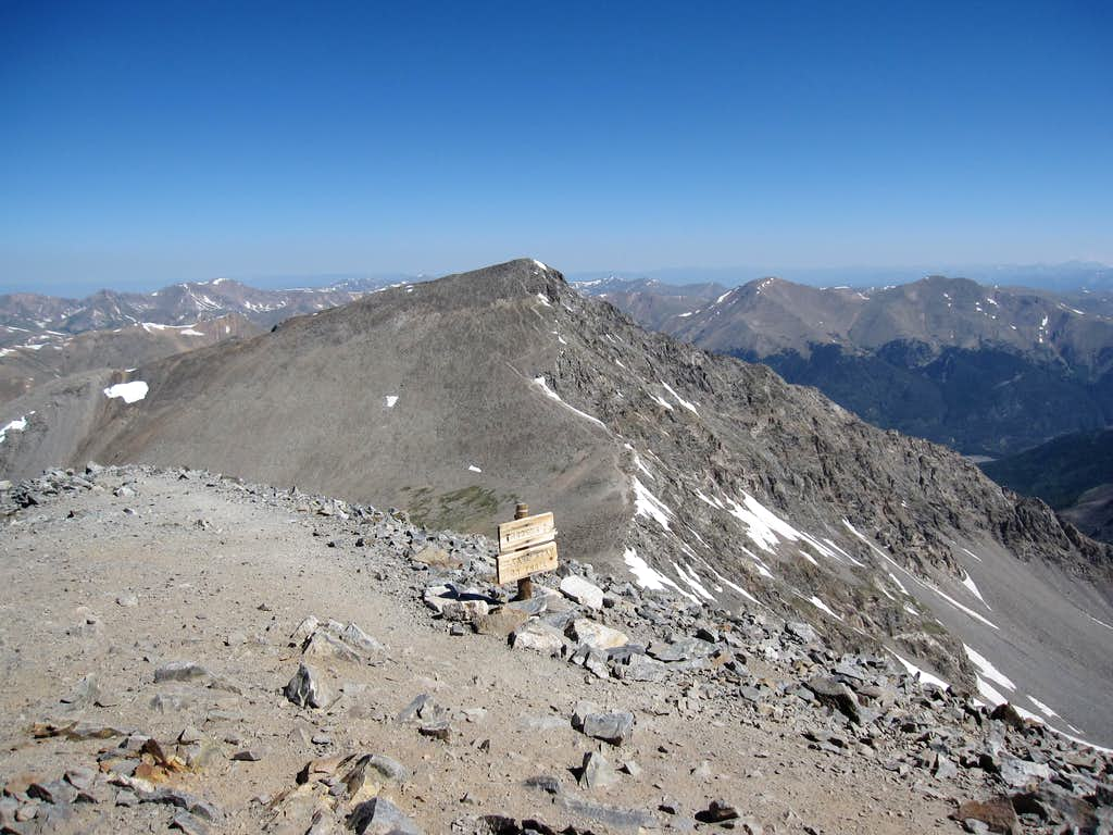how tall is grays peak