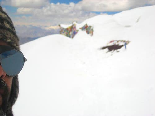 (Partially) Me, on the Summit of Stok Kangri