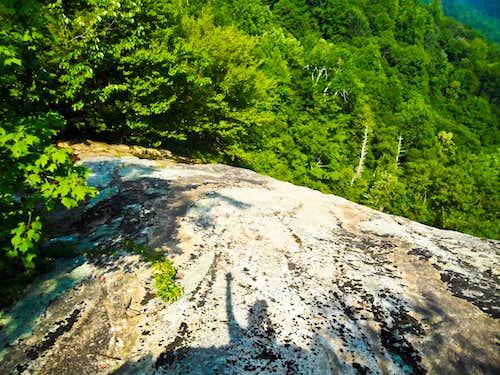 Plunging Cliff