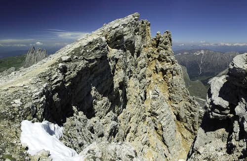 Piz Duleda summit