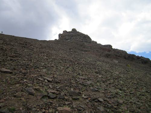 Final scree slope