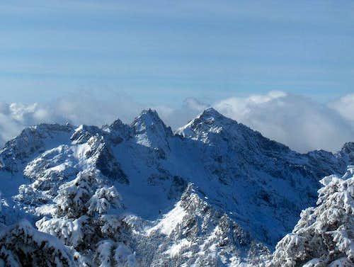 Kaleetan Peak on the right...
