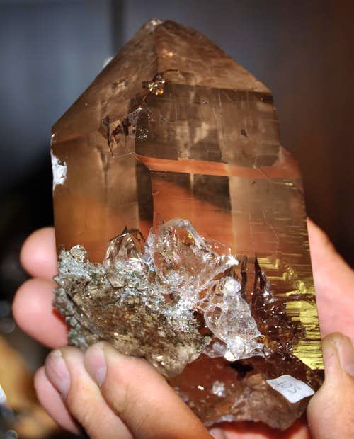 CRYSTALS OF THE MONTE BIANCO (Lucianaz s Collection or Third Part