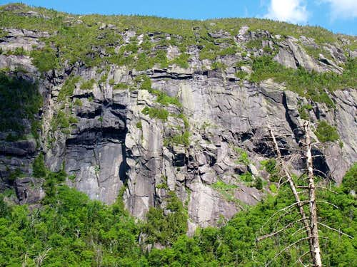 Cliffs of Panther Gorge