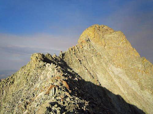end of the W ridge of El Diente