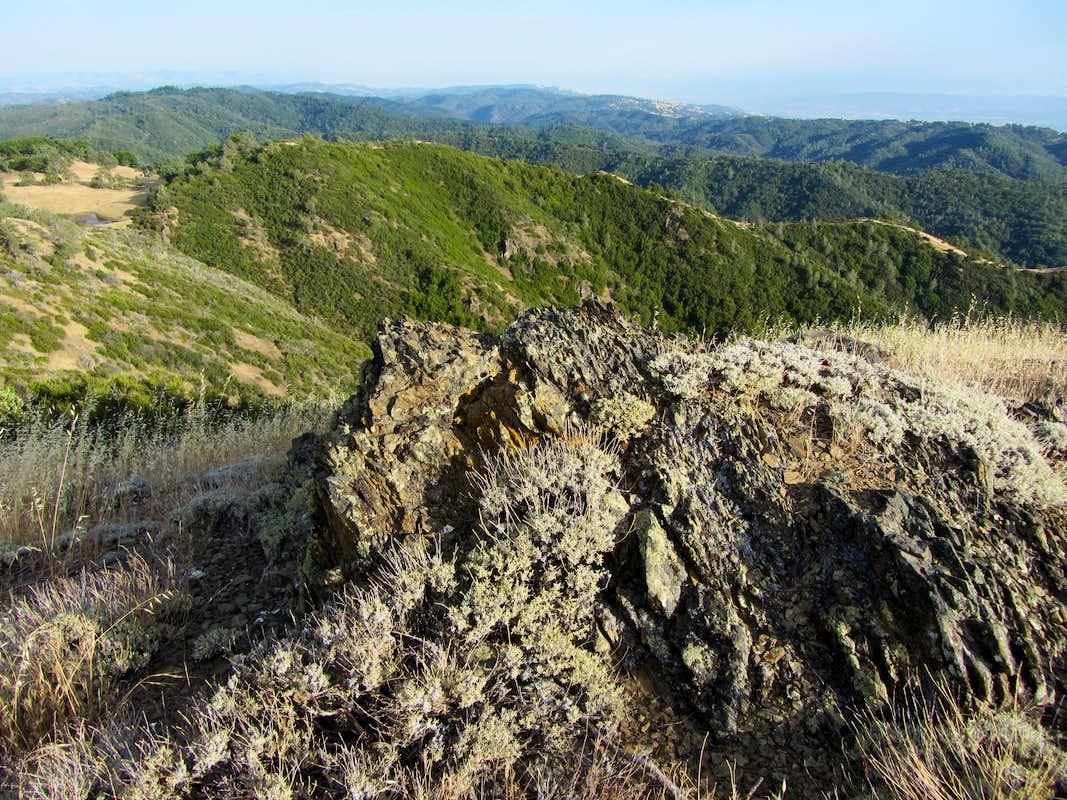 Geologic Map San Jose Quadrangle%0A Pyramid Rock