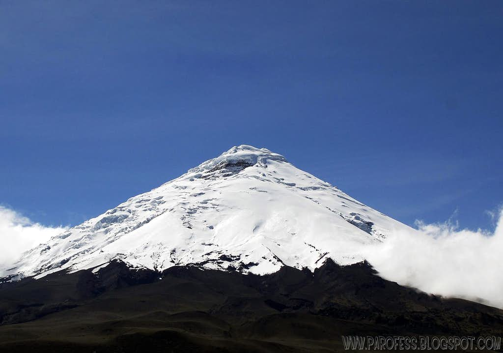 Her majesty: Cotopaxi