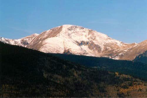 Trinchera Peak 9:55 am,...