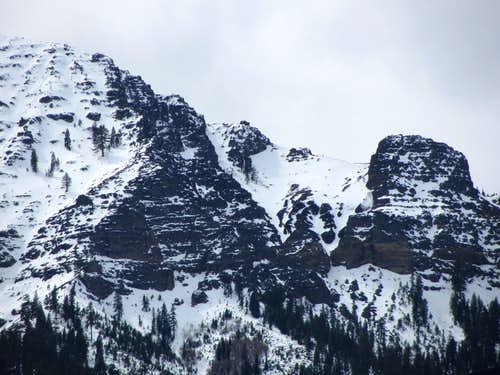 Thompson Peak ruggedness