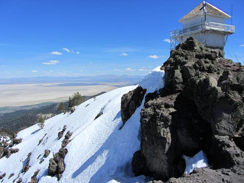 Thompson Peak fire lookout