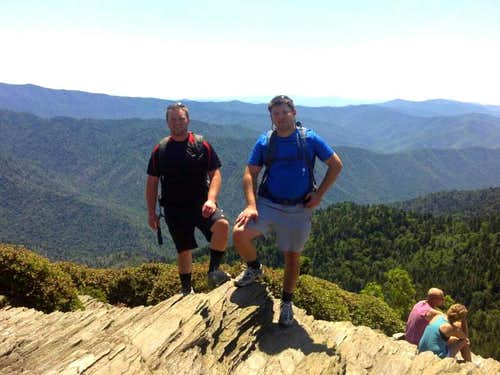 Mount Leconte in June