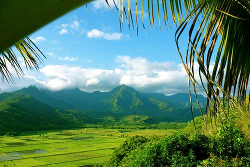 Mountains of Kaua\'i