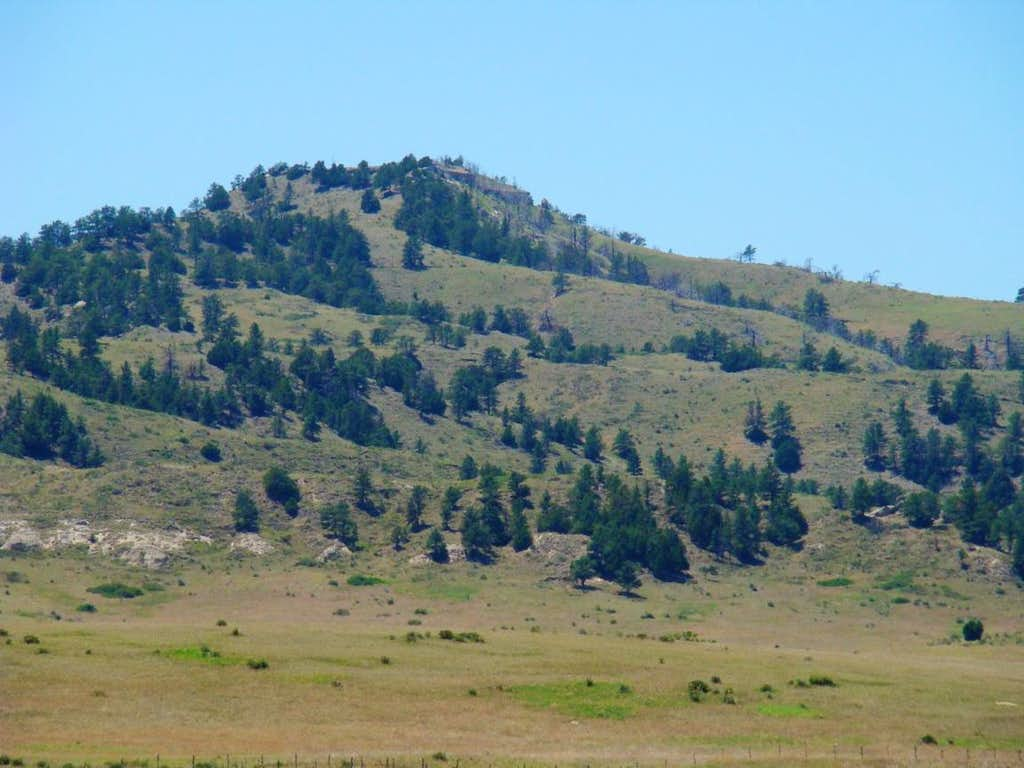 Hogback Mountain from the northeast