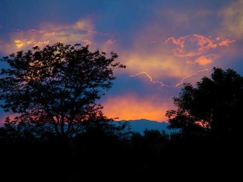 Front Range Sunset