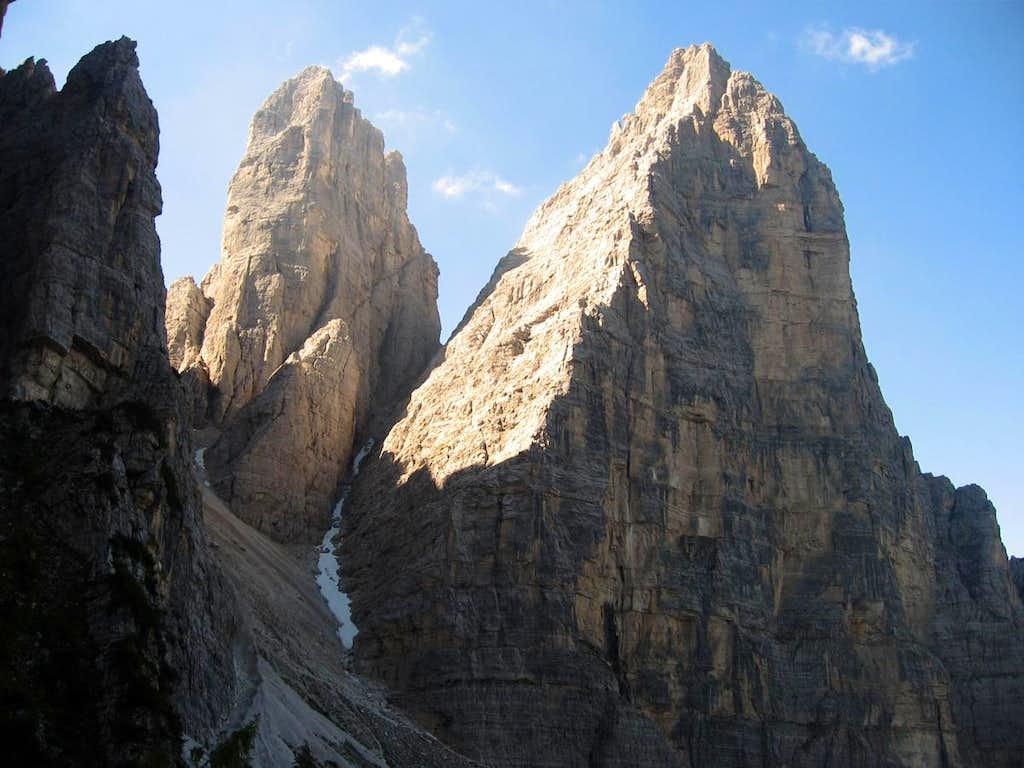 The west side of Rocchetta Alta