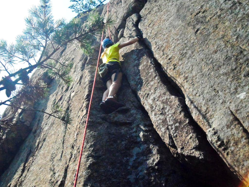 First Day Climbing!