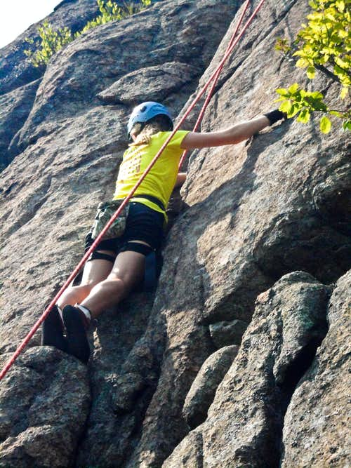 Me Climbing!