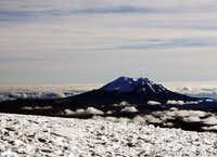 Antisana from Cotopaxi summit