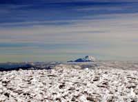 Chimborazo from Cotopaxi summit