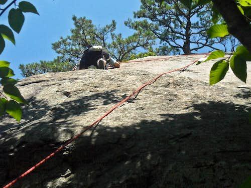 My Dad Climbing Up