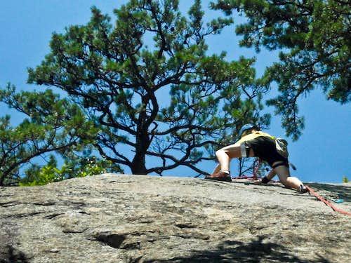 Me Slab Climbing!