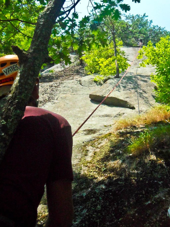 Slab Climbing