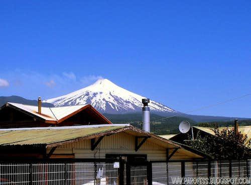 Villarica volcano - 2.847m