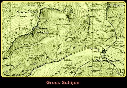 Gross Schjien map
