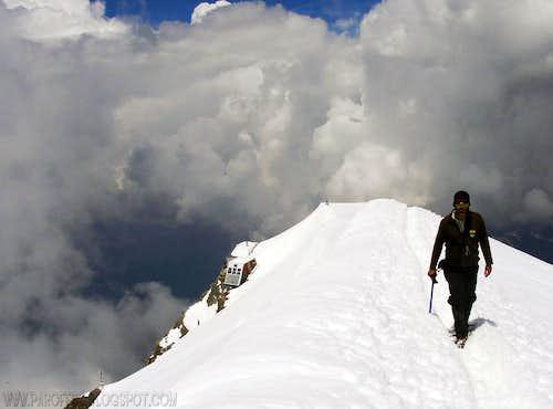 Aiguille du Gouter, at 3.864 m