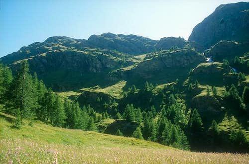 In high Ripa valley, Under...