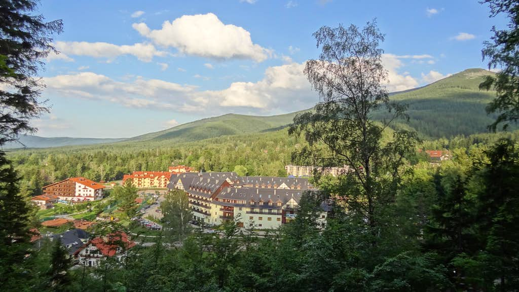 Skalnik massif from Karpacz