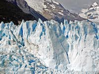 Wall of Perito Moreno.