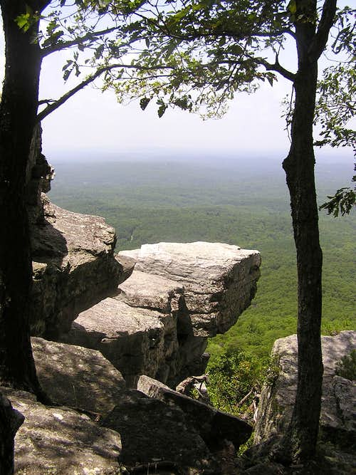 Pulpit Rock, Cheaha Mountain, Alabama.