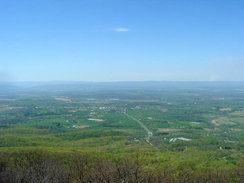 Shenandoah Valley from Big Mountain