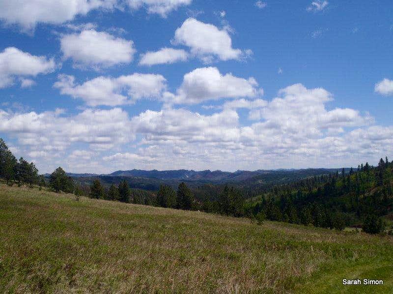 Views from southern slopes (b)
