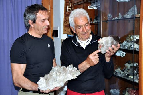 CRYSTALS OF THE MONTE BIANCO (  The Crystal Hunters   First Part)