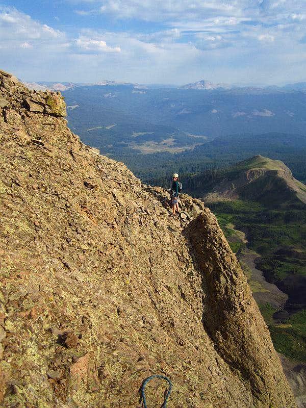 Lizard Head rappel anchor : Photos, Diagrams & Topos : SummitPost
