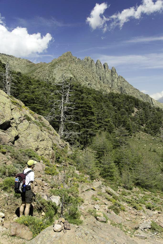 Monte Albanu and the Cinque Frati