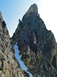 Standard West Face route on SE ( Hard ) Mox