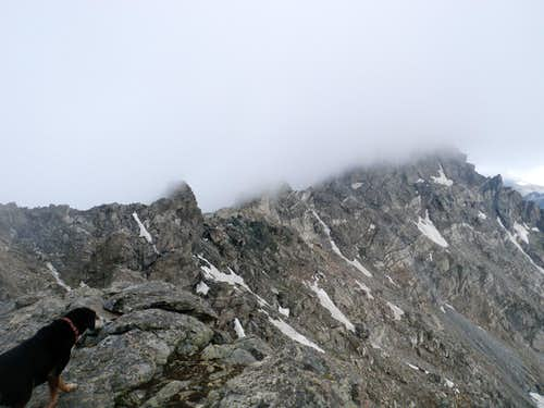 View towards North Arapahoe Peak