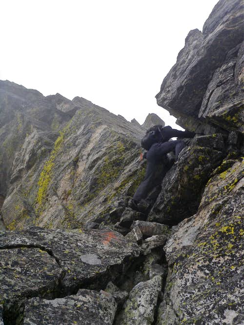 A few scrambling sections