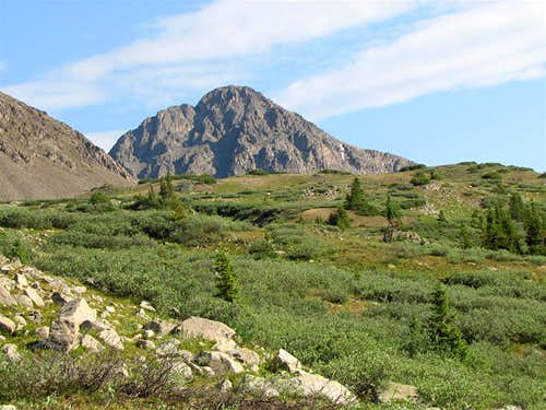 Truro Peak, South Face