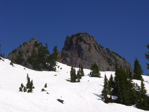 Devils Peak summit block