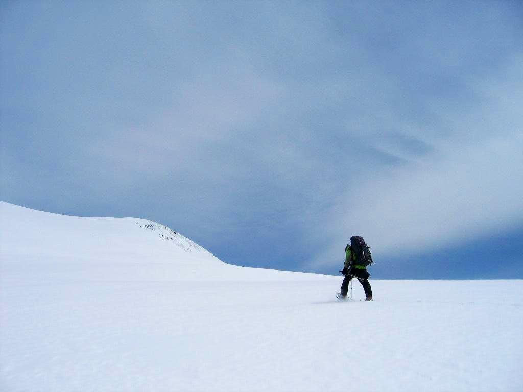 Approach to Green Butte Ridge