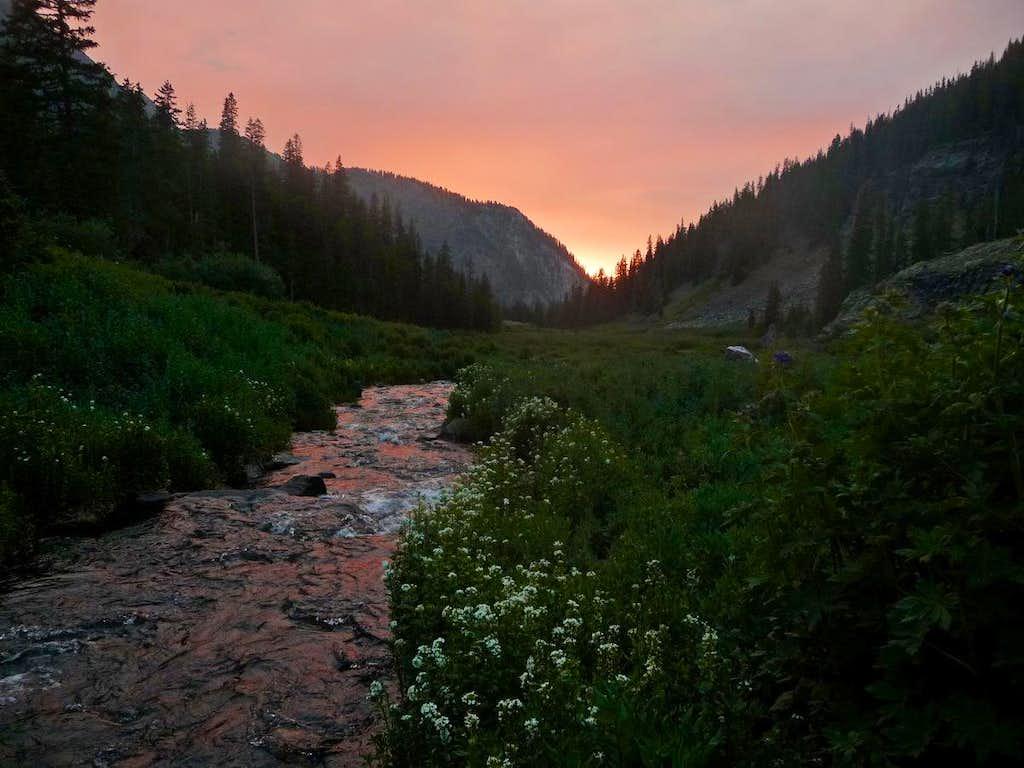 The Meadows below Arrow Peak