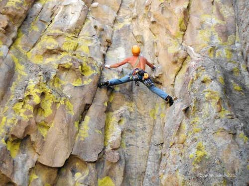 Yellow Wall, 5.9-5.12a