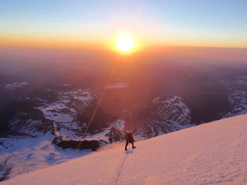 Sunrise from Mount Rainier
