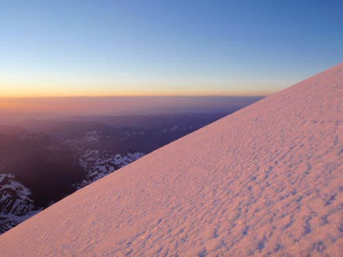 Emmons is not too steep...