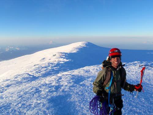 Stephan on Rainier's Summit