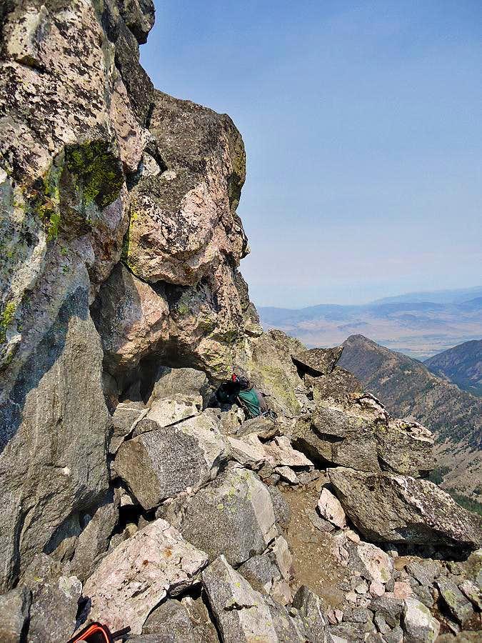 Summit ledge
